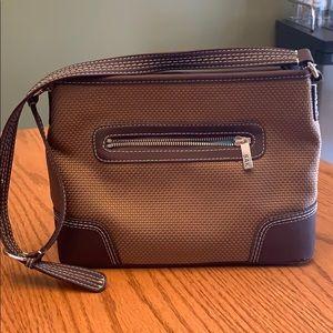 Brown SAK shoulder purse